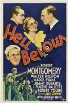 Hell Below 1933 DVD - Robert Montgomery / Walter Huston